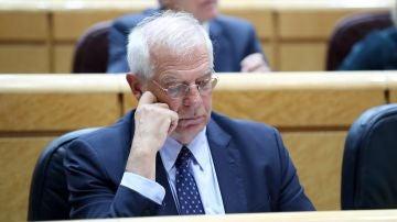 El ministro de Exteriores, Josep Borrell