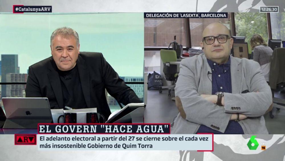 Antonio García Ferreras y Miquel Giménez