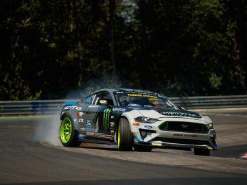 Ford Mustang RTR Drift Nürburgring