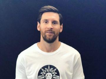 Leo Messi anuncia que tendrá un espectáculo en el Circo del Sol