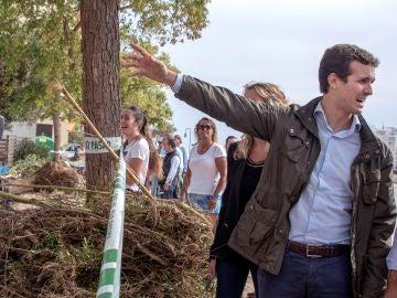 El presidente del Partido Popular Pablo Casado