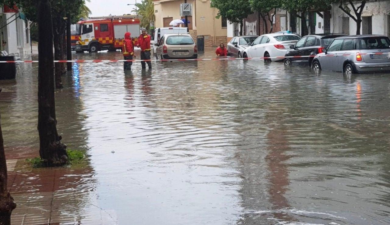 Lluvia Marbella