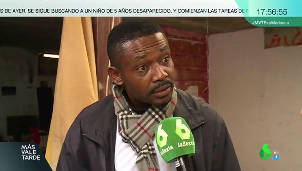 """Expediente Marlasca habla con Mamadu, el propietario del 'narcosolar' desalojado en Vallecas: """"Si han encontrado droga que me lleven detenido"""""""