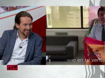 Pablo Iglesias y la campaña del PP