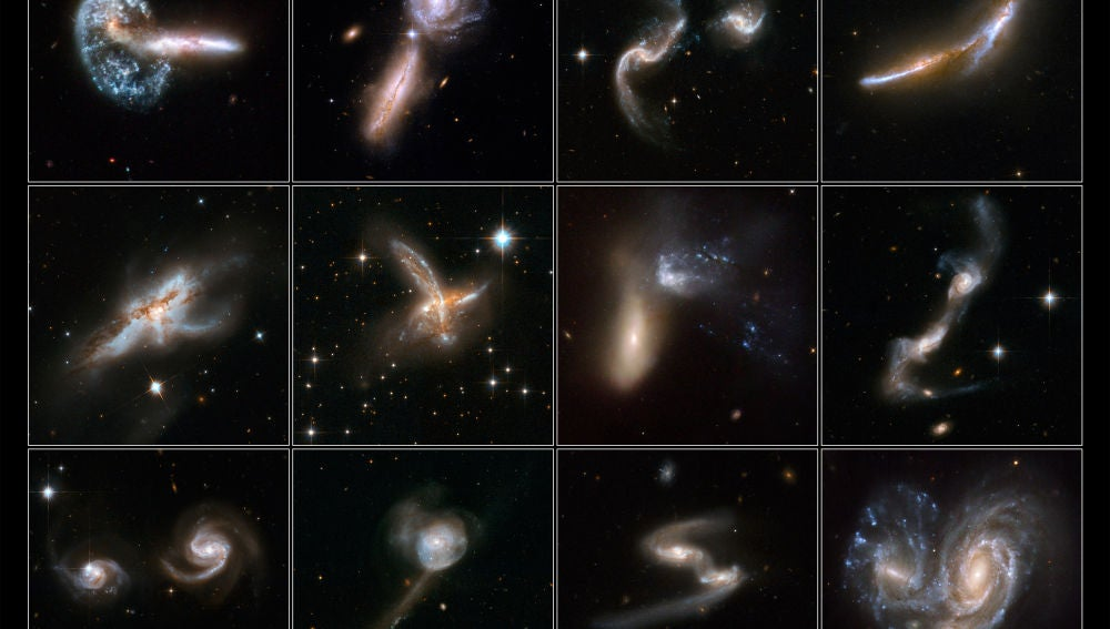 Descubierta la galaxia canibal mas pequena