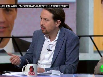"""Iglesias defiende el acuerdo de los Presupuestos y manda un mensaje a Europa: """"Se puede ayudar a las familias y conseguir un modelo sin austeridad"""""""
