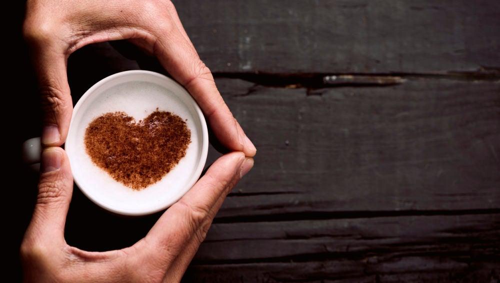 Imagen de archivo de un café