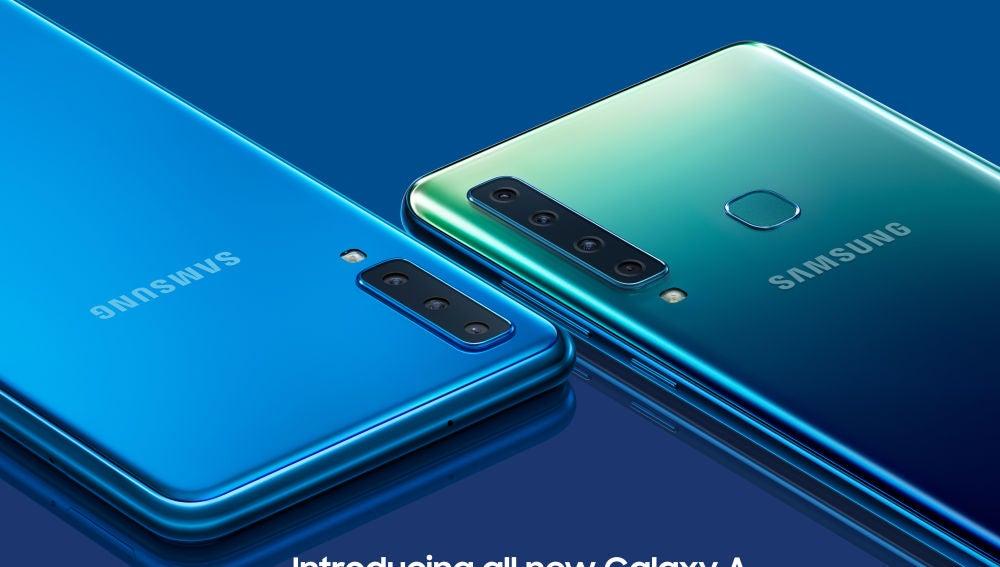 Samsung Galaxy A7 y A9