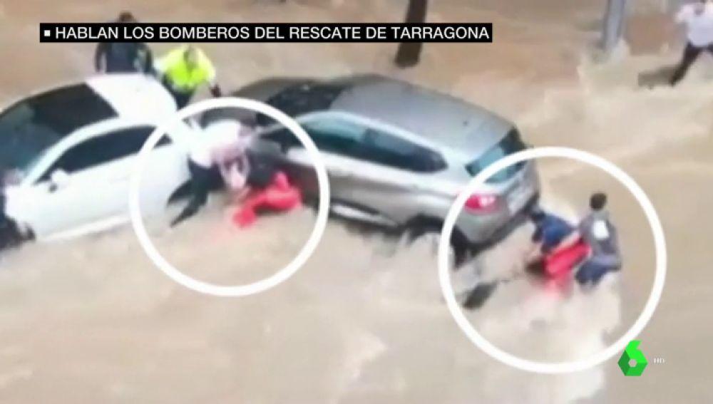 Angustioso rescate en Tarragona