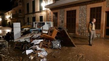 Imagen de las calles de la localidad mallorquina de Sant Llorenç