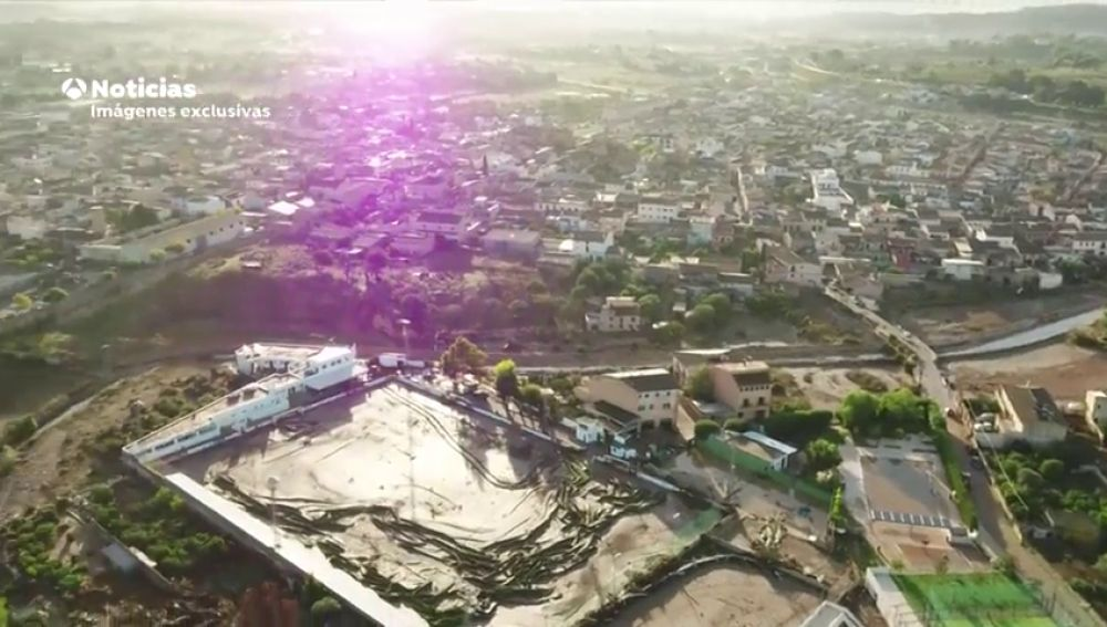 La tragedia de Sant Llorenç, a vista de dron: las imágenes que muestran la catástrofe tras la tormenta