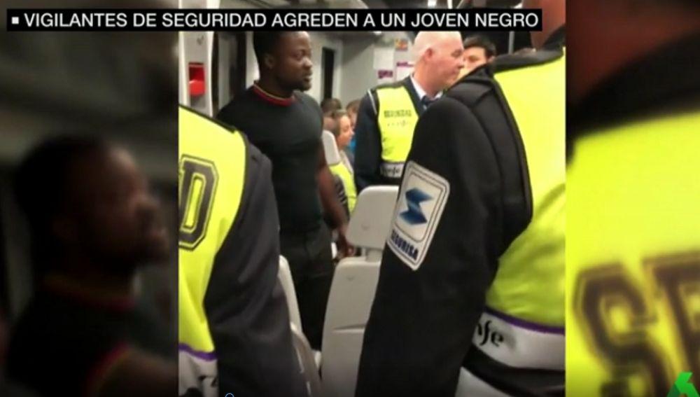 Imagen del vídeo de la agresión