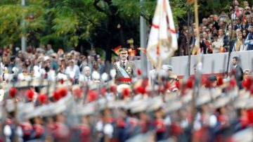El rey Felipe VI, en el Día de la Fiesta Nacional