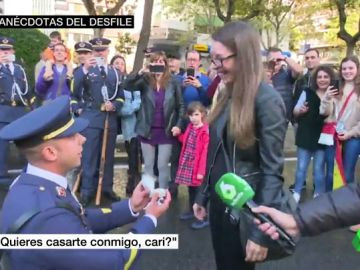 Entre tanques, pedidas de mano y patriotismo a un euro: las anécdotas que nos deja la fiesta del 12 de octubre
