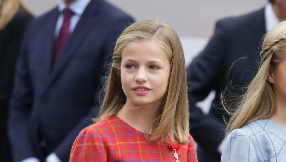 La princesa Leonor en el Día de la Hispanidad
