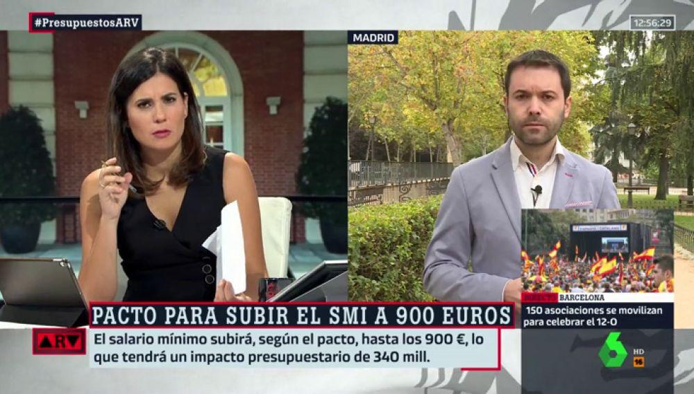 """Juan Ramón, tras el acuerdo entre Gobierno y Podemos: """"Las previsiones de ingresos casi nunca son realistas"""""""