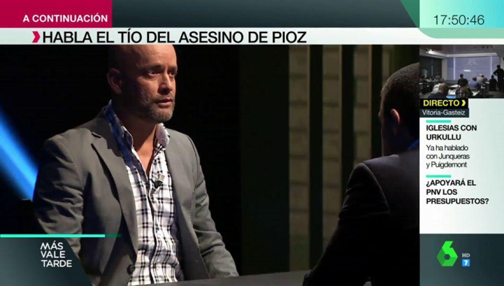 """El tío de Patrick Nogueira, en Expediente Marlasca: """"Es muy listo, sabe que si se hubiese quedado en Brasil estaría peor que aquí"""""""