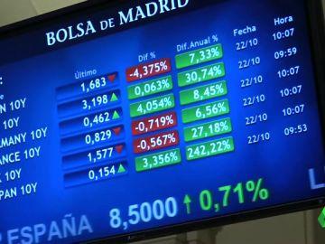 Los bancos se desploman en Bolsa tras la sentencia del Supremo
