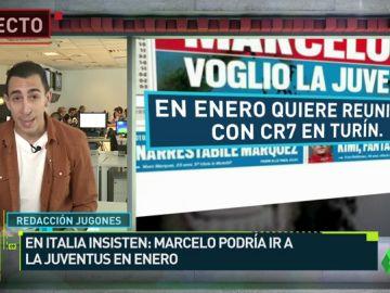 Marcelo podría marcharse a la Juve en el mercado de invierno