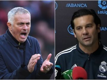 Mourinho y Solari, candidatos al banquillo blanco