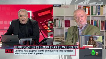 Antonio García Ferreras y José Antonio Martín Pallín