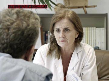 Alberto Chicote se entrevista en ¿Te lo vas a comer? con una alergóloga