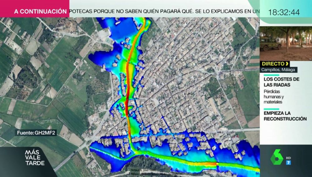 Reconstruyen lo ocurrido y muestran las zonas afectadas: así funciona el satélite que evalúa los daños tras las inundaciones