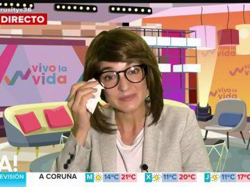 Leonor Lavado, 'en clave' de Toñi Moreno habla de su cambio forzado de registro