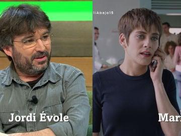Jordi Évole y María León