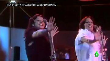 El dúo musical 'Baccara'