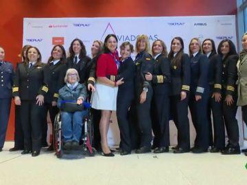Mujeres piloto lanzan un mensaje a las jóvenes