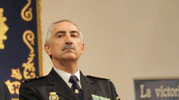 El jefe superior del Cuerpo Nacional de Policía en Navarra, Daniel Rodríguez López