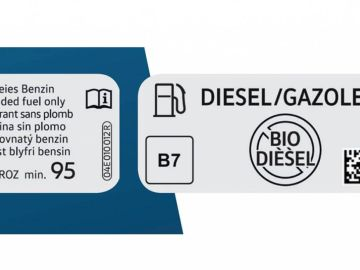 Etiqueta de combustibles: ¿Qué es el diésel B7 y B10 que consume ahora mi coche?