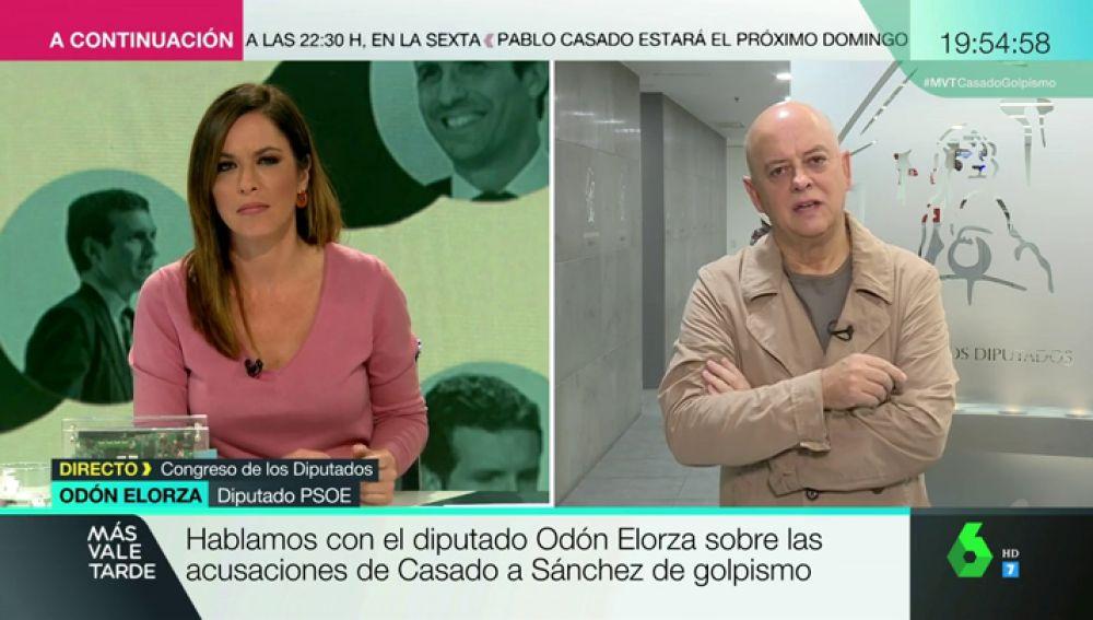 """Odón Elorza: """"El Partido Popular nos tiene acostumbrados a un discurso de la extrema derecha"""""""