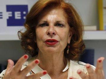La exministra de Cultura, Carmen Alborch