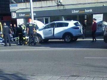 Un hombre de 60 años ha muerto y otras tres personas están heridas tras ser atropelladas