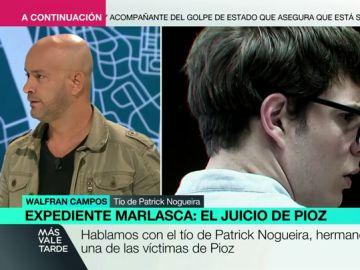 """Habla el tío de Patrick Nogueira: """"Su perdón es forzado. Es muy fácil hablar de los muertos porque no se pueden defender"""""""