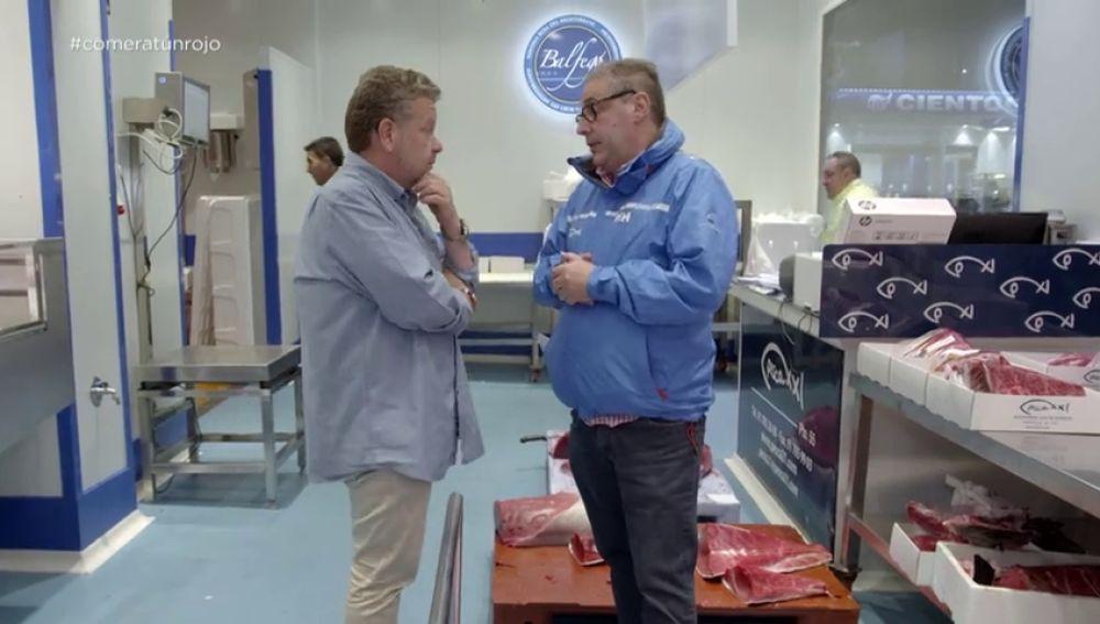 """Comprar atún rojo ilegal en Mercamadrid como si no lo fuera: """"Yo vendo la ventresca a 45 euros y otros a 30, ¿no te mosquea?"""""""