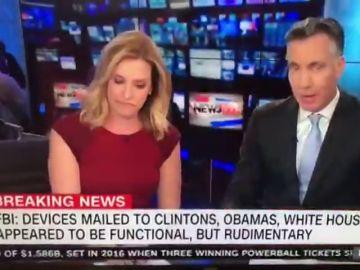 Desalojan los estudios de la CNN