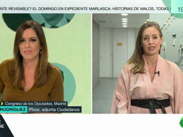 """Melisa Rodríguez, sobre las encuestas del CIS: """"El dato de Ciudadanos se corresponde con el que nosotros manejamos"""""""