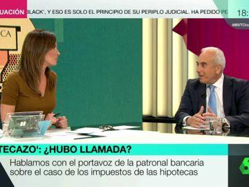 """Martínez Campuzano (Asociación Española de la Banca): """"No amenazamos con subir los costes. Es tomar en consideración las consecuencias"""""""