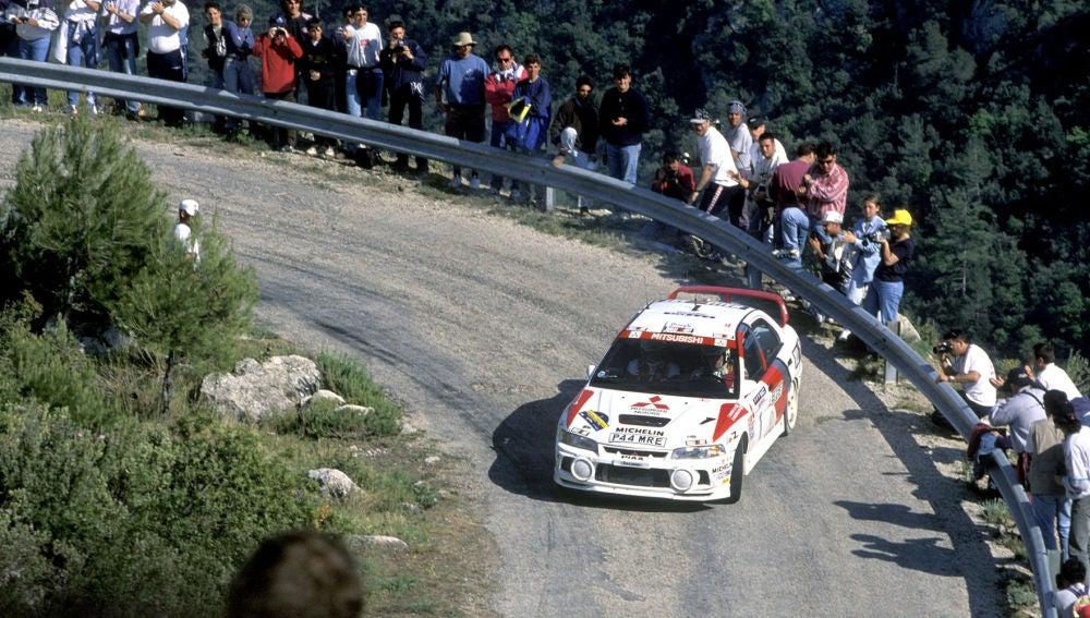 Tommi Makinen Rally Catalunya 1997
