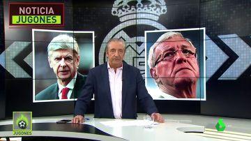 Arsène Wenger y Marcello Lippi se han ofrecido para entrenar al Madrid