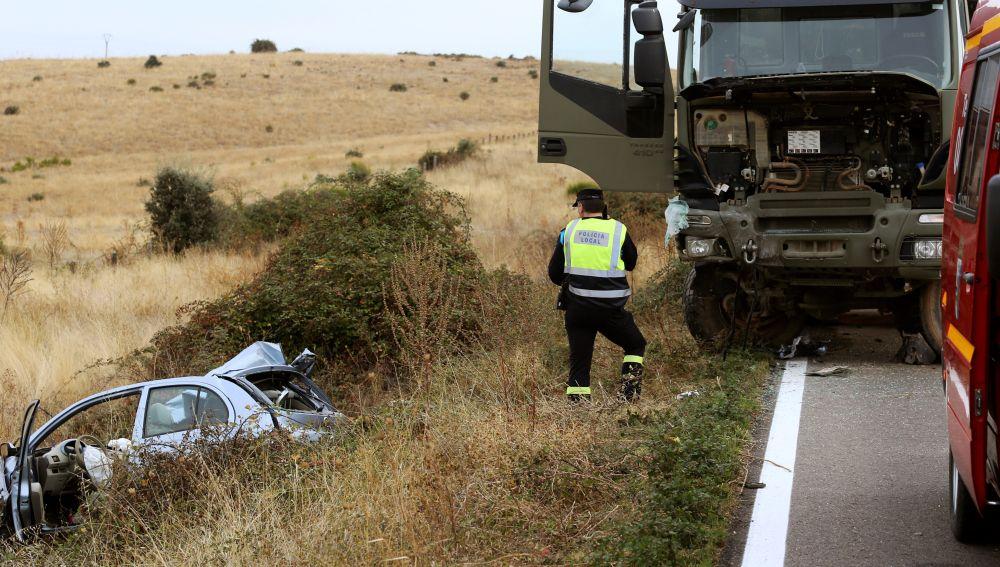 Siniestro en Salamanca en el que ha muerto una menor