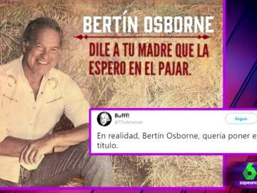"""Del """"dile a tu madre que la espero en el pajar"""" al """"la huevería está abierta"""" : las propuestas de los twitteros para el nuevo disco de Bertín"""