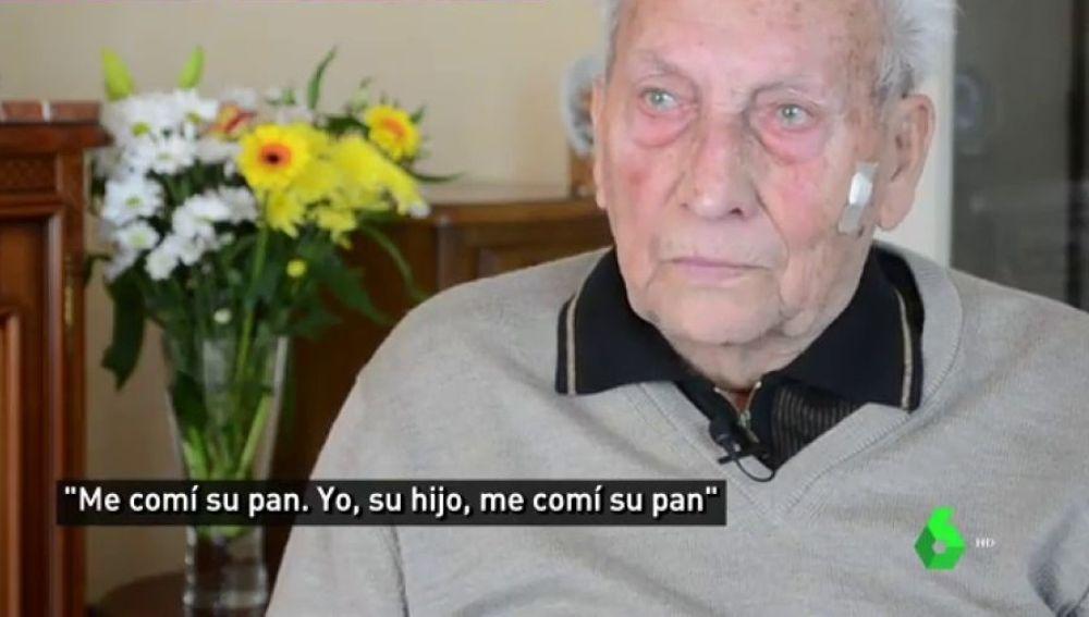José narra cómo se sacrificó su padre para que él pudiera comer en Mauthausen