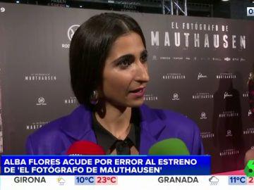 """La gran """"empanada"""" de Alba Flores"""