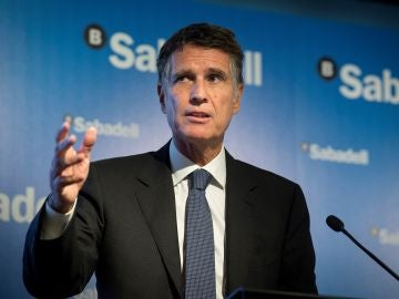El consejero delegado del Banco Sabadell, Jaume Guardiola (Archivo)