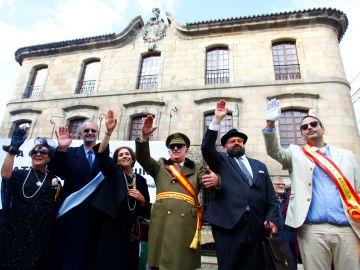 Una marcha ciudadana ha discurrido hoy por las calles de A Coruña