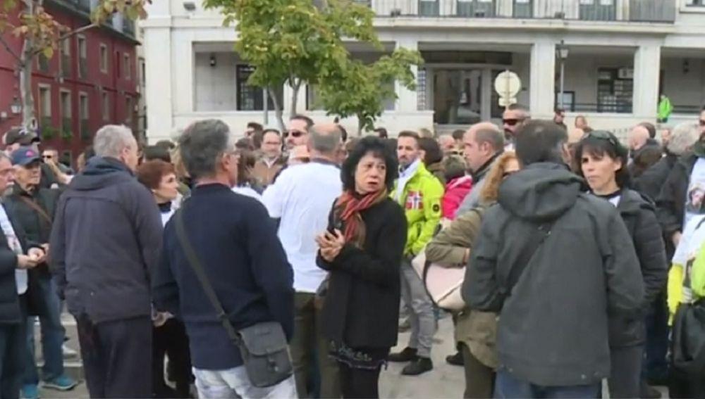Imagen de la concentración en Madrid
